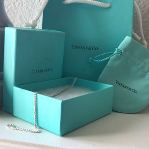 Tiffany &Co. 💯 authentic silver link chain